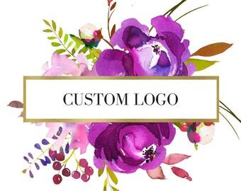 Custom Logo - Digital Logo - Printable - Small Business - Brand Package - Entrepreneur Logo