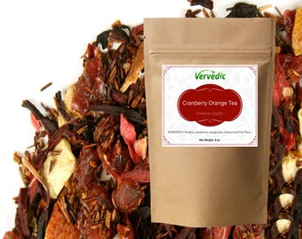 Cranberry Orange Herbal Tea