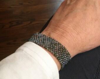 Green water bracelet