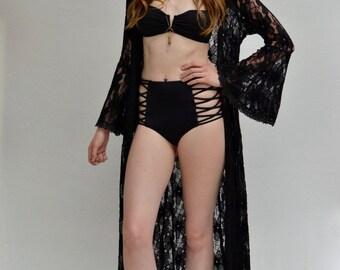 Melati Duster in Black