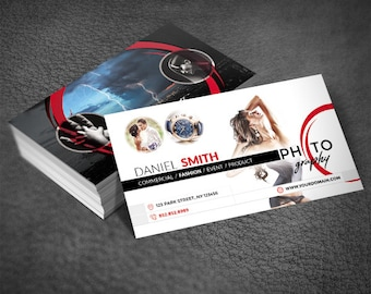 Photography Business Card / PSD Template