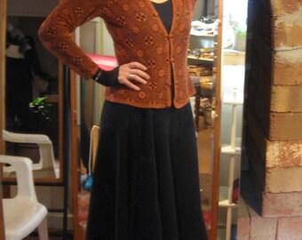 Custom Front Bustle Skirt