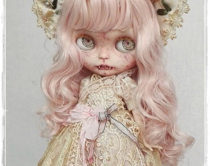 CASSIA Pale Vampire girl Blythe custom doll by Antique Shop Dolls