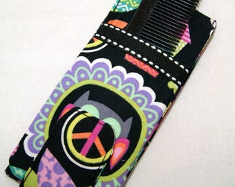 Girl's Hair Accessory Case - Purse Size - Barrettes - Bows - Hair Ties - Organize Hair Supplies - Travel Pouch for Girls Barrettes and Bows