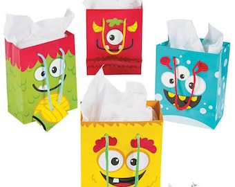 My Sweet Monster small favor bags / treat bags / gift bags