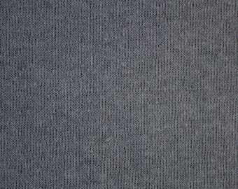 Dark Gray Cotton Double Knit- Made in Japan