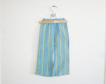 Vintage Blue and Yellow Stripe Pants