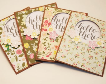 Friendship Card, Greeting Card for Friends, Friendship Greetings, Just Because, Cards for Friends, Hello There Package of 10