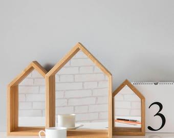 House Mirror Shelves