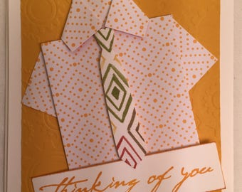 Handmade Greeting card Thinking of you