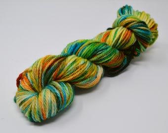 Cozy Bulky, hand dyed yarn, handdyed yarn, hand dyed bulky yarn, hand painted yarn, bulky yarn, bulky weight, Crazy Daisy