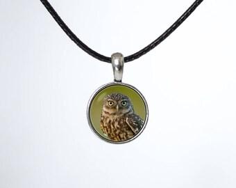 Owl choker Bird choker Leather cord Choker necklace Owl jewellery Owl pendant Black choker Chokers Leather necklace Boho choker Gift for her