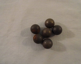Set of 6 Steeley's Marbles