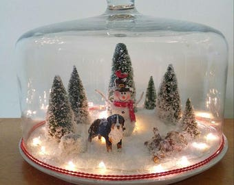 XL Winter Snowglobe