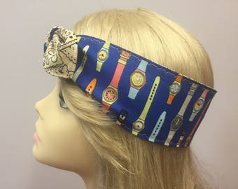 Just you watch PinUp Style Headband