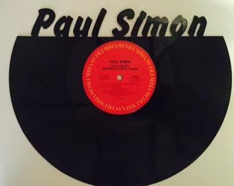 PAUL SIMON Vinyl Record Wall Art