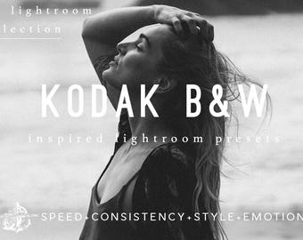 Lightroom Presets Kodak BW Film Filters by Filter Collective
