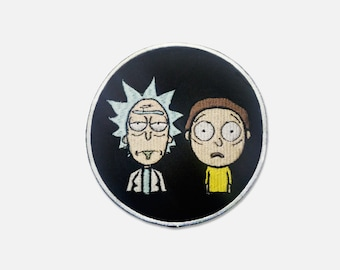Rick and Morty embroidered patch