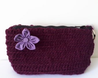 Crochet Cosmetic Bag/Pencil case