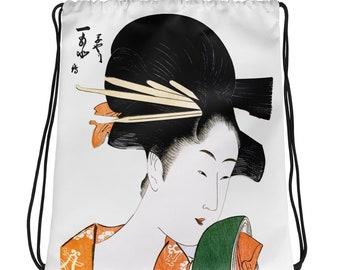 Geisha Drawstring bag