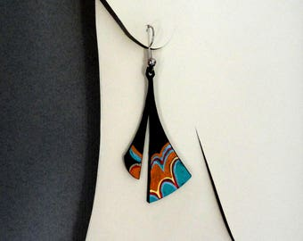 ref 459 tube earrings