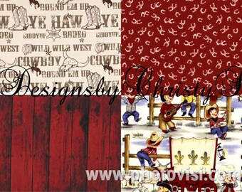 Reversible Pick Your Cowboy Western Crib Rail Guard