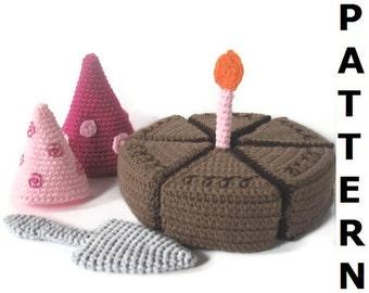 Play Food Crochet Pattern