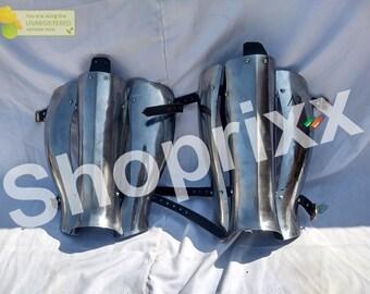 Bugurt Greaves, Armor Legs Greaves, Hardened Leg Protection, Ritterrüstung Greaves Protection,HMB Combat Protection