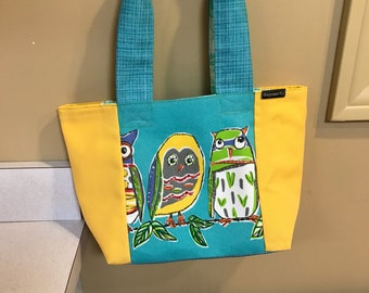 Owls and Friends Tote