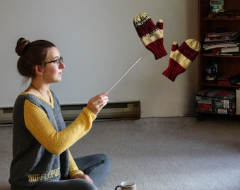 Harry Potter / Gryffindor Mittens