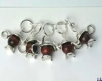 Tempting Teapots knitting or crochet stitch markers