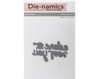 My Favorite Things Die-Namics Dies ~ Love and Adore You, MFT589 ~ RETIRED!