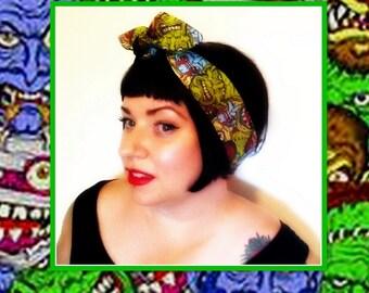 Betty Bandana in Monster Mash....New Style & Size