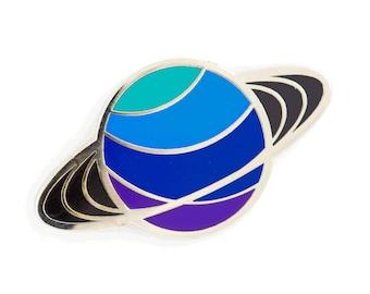 Saturn Planet Enamel Pin