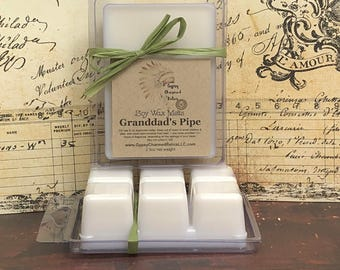 Granddad's Pipe - Tobacco Scented - Soy Wax Tarts - Soy Wax Melts - Melts Tarts - For Warmer - Wickless Candle - Tarts Wax Melts - Grandpa