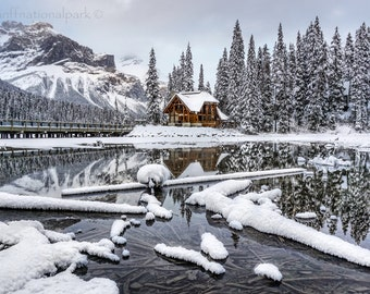Emerald Lake Photography Print