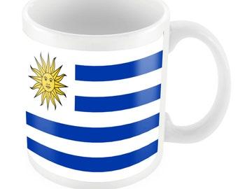 Uruguay Road To World Cup Ceramic Mug Gift Birthday Present Novelty Brasil 2014
