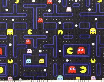 "Printed fabric theme ""Pac-Man"""