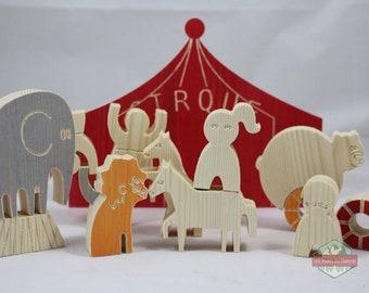Le cirque en bois