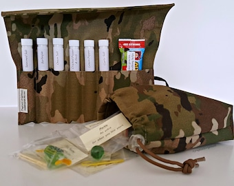US Army Deployment Gift Set, Multicam, Military Gift, Army Deployment, Care Package, Personalized Gift, Soldier Gift, Meal Improvement Kit