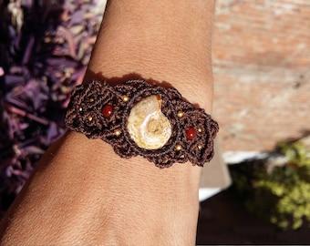 Old school-fossil treasure bracelet