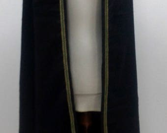 Cape with pointed hood/Fantasy head with hood/LARP/GRV/live action role play Cape/cloak for live role playing