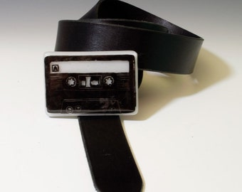 Fused Glass Cassette Buckle