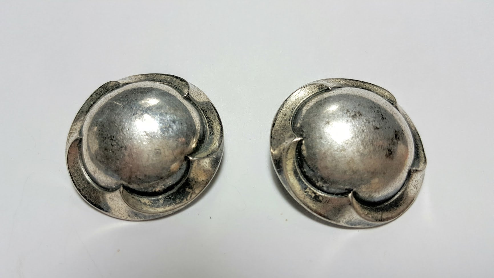 Ermani Bulatti Clip earrings Vintage European Designer