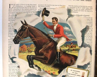 121 Hunter Whiskey Ad - 1945