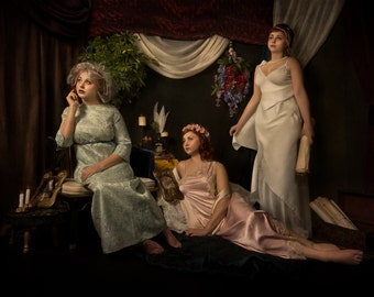 """Limited Edition: """"Three Muses"""" Photographic Fine Art Print"""