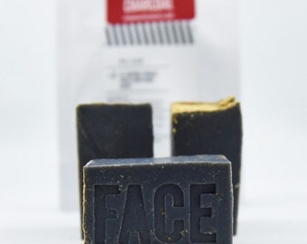 Face - Activated Charcoal Soap (Unscented & Vegan)
