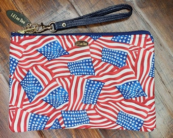 Fire Works, 4th of July Purse 4th of July wristlet, 4th of July wallet