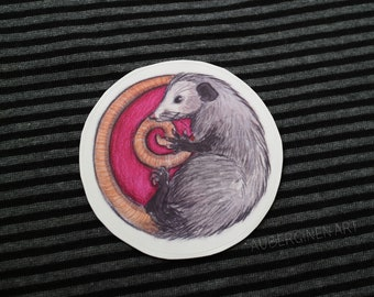 Opossum*STICKER