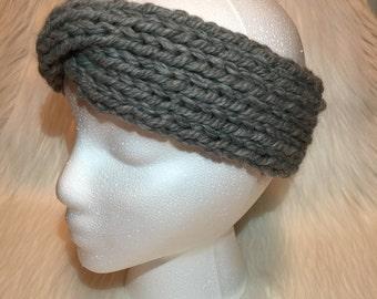 Norwood: Adult women's chunky wool knit headband